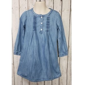 Baby Gap Long Sleeves Denim Dress